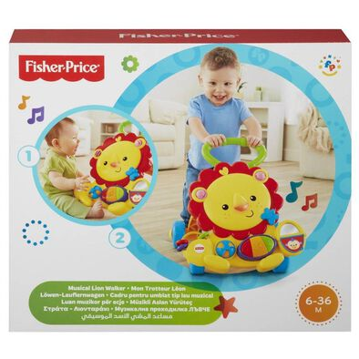 Fisher-Price -Musical Lion Walker