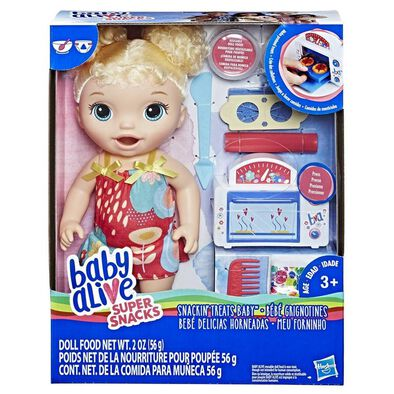 Baby Alive Super Snacks: Snackin' Treats Baby Blonde Doll
