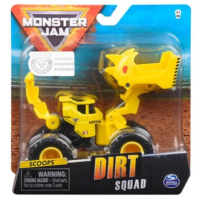 Monster Jam 1:64 Dirt Squad - Assorted