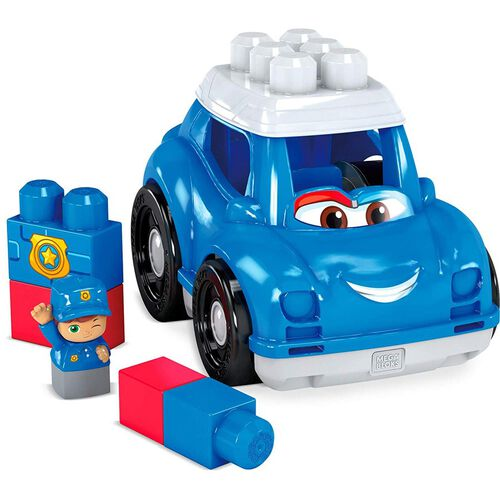 Mega Bloks First Builders Peter Police Car