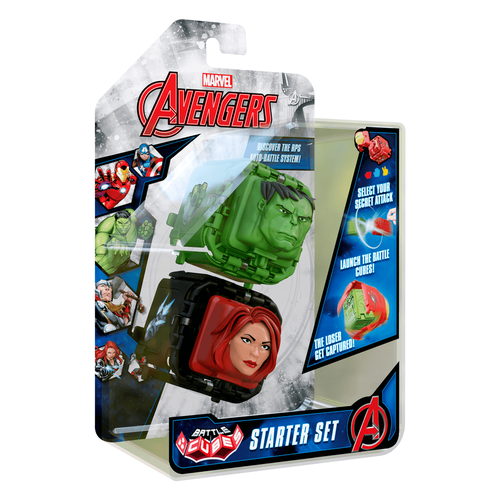 Marvel Avengers Battle Cube Hulk vs. Black Widow 2 Pack
