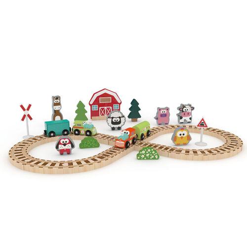 J'adore Farm Train Set