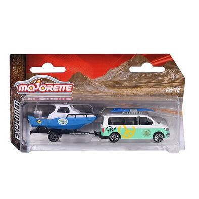 Majorette Explorer Trailer - Assorted