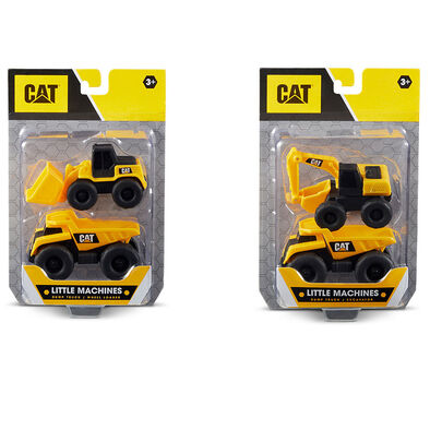 Cat 3 Inch Little Machines 2 Pack - Assorted