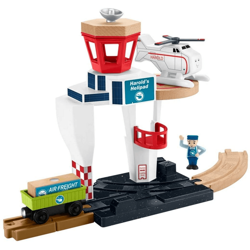Thomas & Friends Wood Harold's Heliport