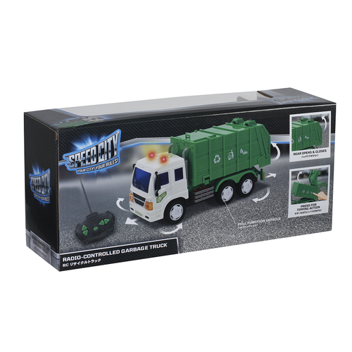Speed City Radio-Controlled Garbage Truck