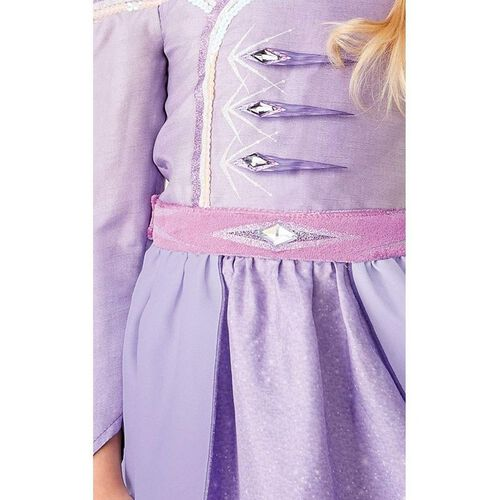 Rubies Disney Frozen 2 Elsa Prologue Dress L