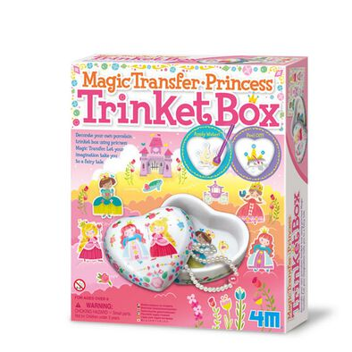 4M Magic Transfer Princess Trinket Box
