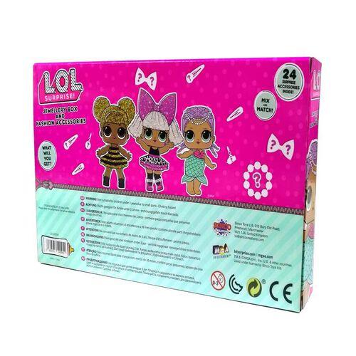 L.O.L. Surprise Jewellery Box And Fashion Accessories