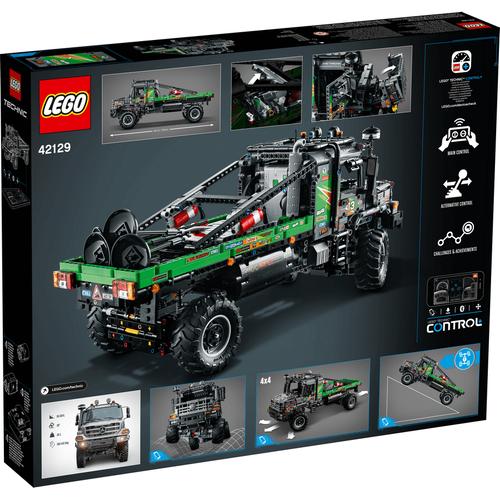 LEGO Technic 4 x 4 Mercedes-Benz Zetros Trial Truck 42129