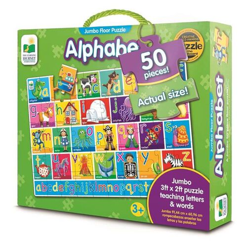 The Learning Journey - Jumbo Alphabet Floor Puzzle