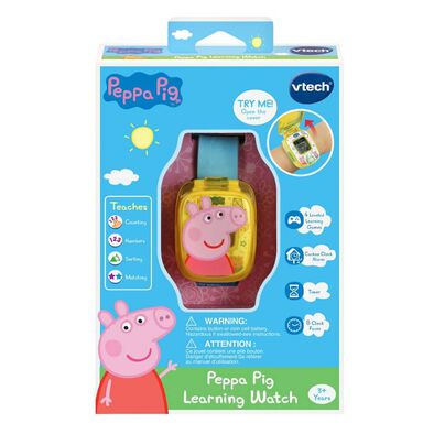 Peppa Pig Learning Watch Blue