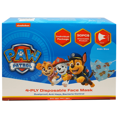 Paw Patrol 4-Ply Disposable Face Mask Kid Size