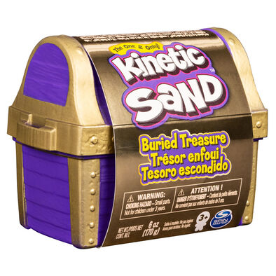 Kinetic Sand Hidden Treasure 6Oz Single Container