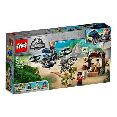 LEGO Jurassic World Dilophosaurus on the Loose 75934