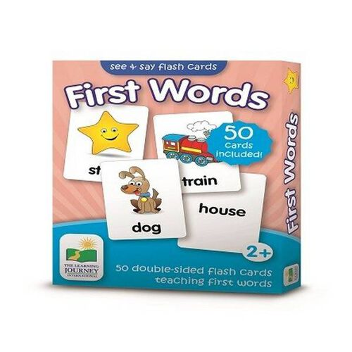 The Learning Journey Flashcards-First Words