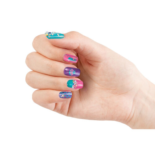 Make It Real Paint & Sparkle Mermaid Nail Art