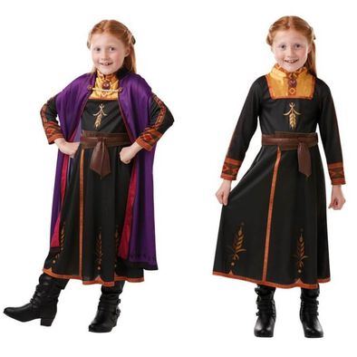 Rubies Disney Frozen 2 Anna Travel Dress Outfit (L)
