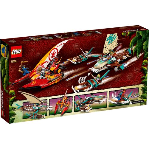 LEGO Ninjago Catamaran Sea Battle 71748