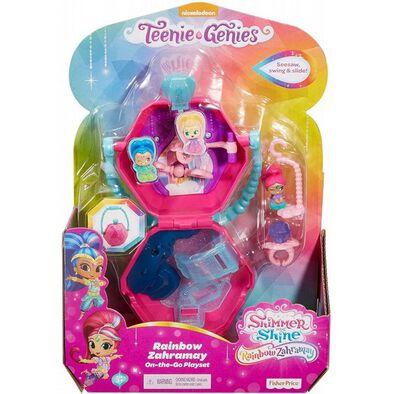Shimmer and Shine Teenie-Genies On-The-Go Playset - Assorted