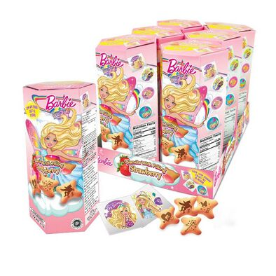 Barbie Biscuits With Strawberry Filling