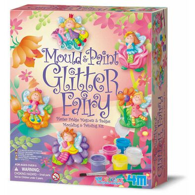 4M Mould and Paint Glitter Fairies