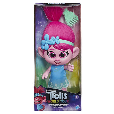 Trolls World Tour Toddler Poppy Doll