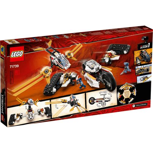 LEGO Ninjago Ultra Sonic Raider 71739
