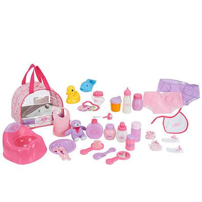 You & Me 30 Piece Doll Care Set In Bag