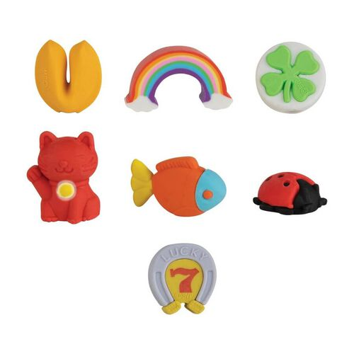 Orb Arcade Capsules Lucky 7 Erasers
