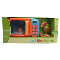 Just Like Home Microwave - Blue