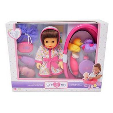 You & Me Splash Time Baby Doll Set
