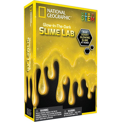 National Geographic Slime Science Kit Yellow
