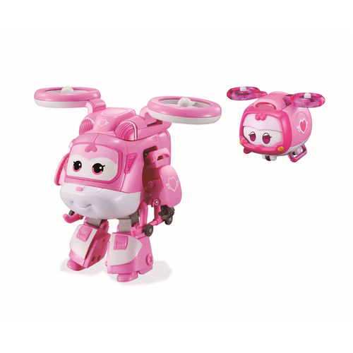 Super Wings 5 Inch Transforming Supercharged Dizzy & Super Pet Dizzy