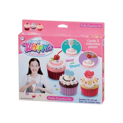 Whipple Puffy Cupcakes Set