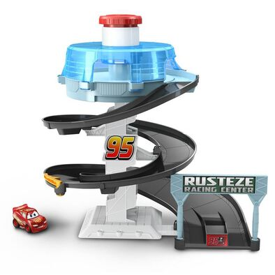 Disney Pixar Cars Micro Mini Rust-Eze Spinning Raceway