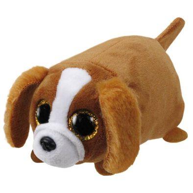 Ty Teeny 4 Inch Suzie The Brown/White Dog