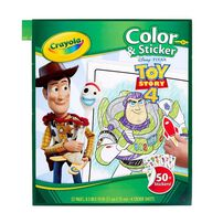 Crayola Toy Story Color and Stick