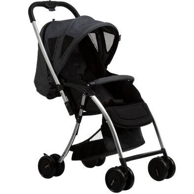 Bonbijou Lucas Lite Weight Stroller Charcoal
