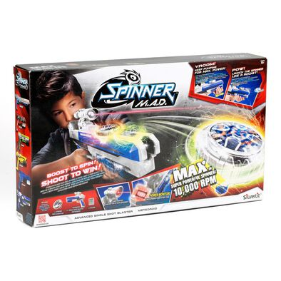 Silverlit Spinner M.A.D Advanced Single Shot Blaster Meteoroid