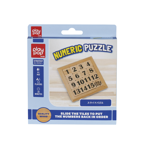 Play Pop Numeric Puzzle Strategy Game