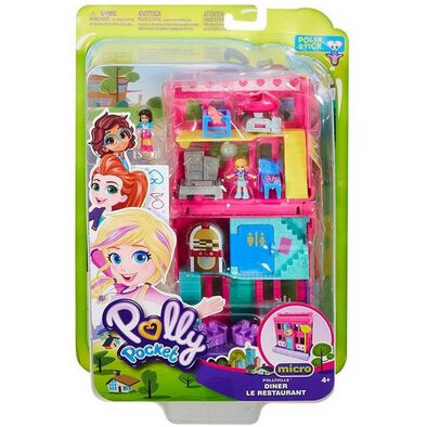 Polly Pocket Pollyville Stores - Assorted