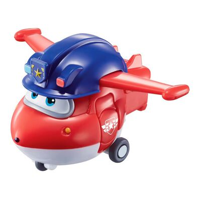 Super Wings Transform-A-Bots Police Jett