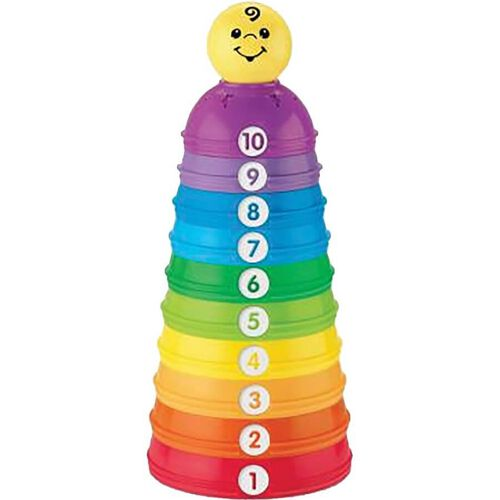 Fisher-Price -Brilliant Basics Stack and Roll Cups