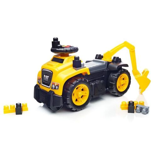 Mega Bloks Caterpillar 3-in-1 Excavator Ride-On