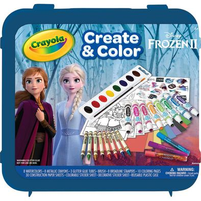 Crayola Disney Frozen 2 All That Glitters Case