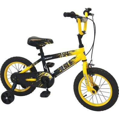 Kent 14 Inch Nebula Yellow Boys Bike