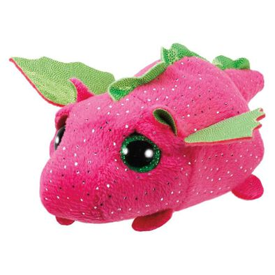 Ty Teeny 4 Inch Darby The Pink Dragon