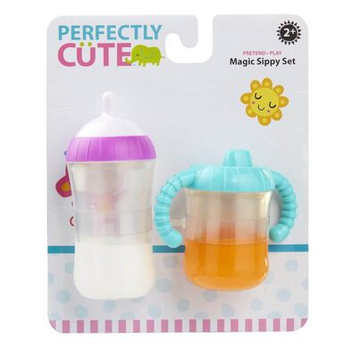 Perfectly Cute Magic Sippy Set