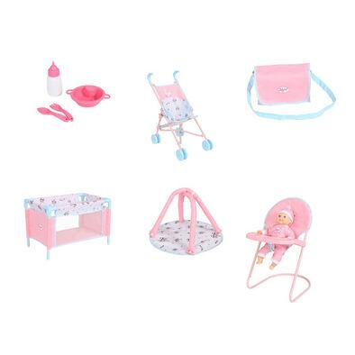 You & Me Babyboo Doll Bundle Set